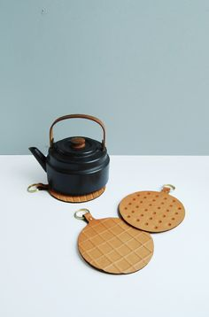 Appétit Leather Trivets