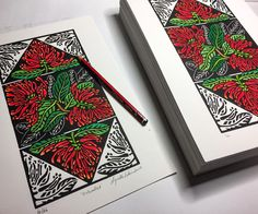 'Enkindled' – Imaginings | Art Studio Diary – Soulsongart Linoleum Block Printing, Holiday Cards, Playing Cards, Walkabout, Prints, Studio, Art, Christian Christmas Cards, Art Background