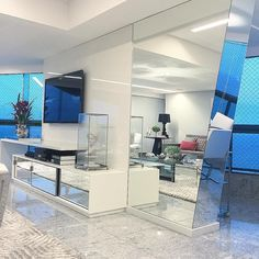 Detalhes móvel de TV  @_decor4home Projeto by DD Arquitetura