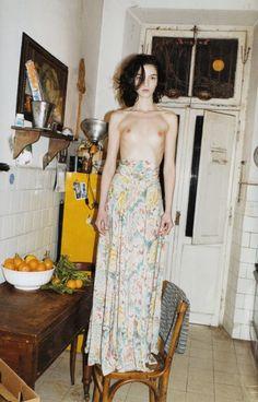 Mariacarla Boscono photographed by Juergen Teller for Paradis Magazine