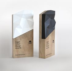 A trophy is an unusual commission for a graphic design studio, but we loved working on this beautiful project for the Logan Urban Design Awards. The shapes in the trophy are derived from the Logan City precinct boundary and were created using a printer… Creative Office Space, Column Design, Certificate Design, Signage Design, Urban Design, Design Design, Design Ideas, Graphic Design Studios, Design Awards