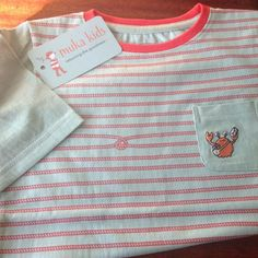 Ropey Tee in organic fairtrade cotton. Ethical & sustainable kids clothes that improve the lives for women in poverty.