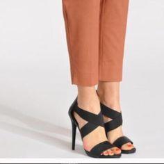 Black Steve Madden heels Worn once. Perfect condition Steve Madden Shoes Heels