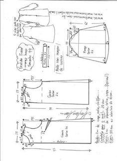Выкройка женского платья размеры евро 36-56 (Шитье и крой)   Журнал Вдохновение Рукодельницы