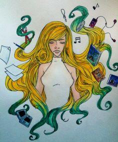 'NèsSo': Cheveux + Trucs que j'aime ~ by 'Nès