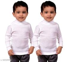 Checkout this latest Sweaters Product Name: *UNISEX KIDS KASHIKA HAZE HIGHNECK SWEATERS (PACK OF 2)* Fabric: Wool Sleeve Length: Long Sleeves Pattern: Self-Design Multipack: 2 Sizes:  12-18 Months, 0-1 Years, 1-2 Years, 2-3 Years, 3-4 Years, 4-5 Years, 5-6 Years, 6-7 Years Country of Origin: India Easy Returns Available In Case Of Any Issue   Catalog Rating: ★4 (257)  Catalog Name: Tinkle Trendy Boys Sweaters CatalogID_2435398 C59-SC1178 Code: 603-12597460-117