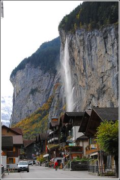 Lauterbrunnen, Switzerland | Valley of 72 Waterfalls