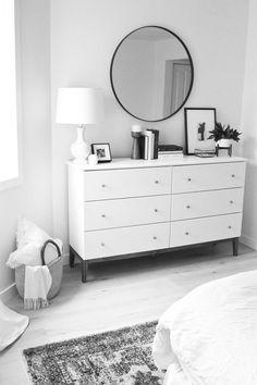 Bedroom redesign - 11 Genius IKEA Bedroom Hacks That Will Blow Your Mind Bedroom Hacks, Home Bedroom, Bedroom Ideas, Bedroom Inspo, Bedroom Colors, Ikea Bedroom Decor, Ikea Room Ideas, West Elm Bedroom, Ikea Bedroom Storage