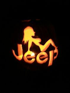 Jeep Girl Pumpkin