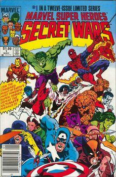 Marvel Super Heroes:  Secret Wars  #1 in a Twelve Issue Limited Series!