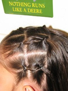 keeping hair tied up neatly for school. Young Girls Hairstyles, Easy Toddler Hairstyles, Baby Girl Hairstyles, Princess Hairstyles, Easy Hairstyles, Curly Hair Tips, Short Curly Hair, Curly Hair Styles, Girl Hair Dos