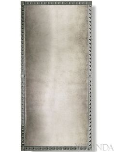 """Palazzo Venetian-style Mirror (Large is 75"""" h x 39 1/2"""" w; other sizes available), $3,872; Julian Chichester   - Veranda.com"""