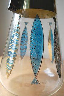 mid century modern fish