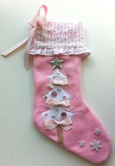 Baby's First Christmas Stocking #baby #firstchristmas #holiday ...