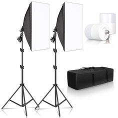Photo Studio Lighting Kit Softbox Photography Light Box Kit E27 Save this photo on your board if you ❤️ it.