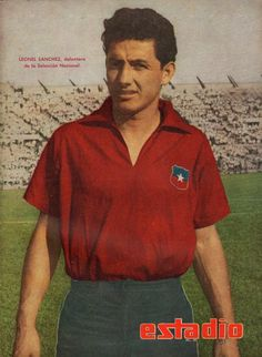 Lionel Sanchez of Chile at the 1950 World Cup Finals 🇨🇱 Fifa, 1950 World Cup, Photography Exhibition, World Cup Final, Football Players, Polo Ralph Lauren, Abs, Baseball Cards, Mens Tops