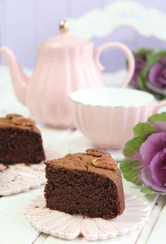 Bizcocho de chocolate y naranja saludable (harinas de avena y almendra)