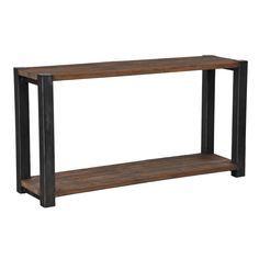 Inspired by classic clean lines, this unique console table is a beautiful blend of reclaimed elm wood and iron. this naturally finished coffee table is the perfect center piece to any room.