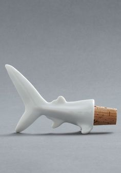 Fin-ish It Later Wine Stopper, #ModCloth