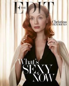 Cover Story | Christina Hendricks: Mad About The Woman | Magazine | NET-A-PORTER.COM