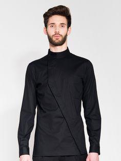 Asymmetrical Buttoned Shirt | Serafin Andrzejak | Shop | NOT JUST A LABEL