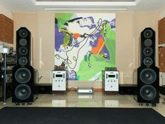Audio Research Reference powering Eggleston Savoy Signature Speakers