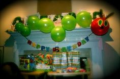 The Very Hungry Caterpillar would make a cute theme for a 1st birthday!