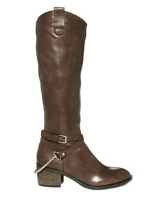 STEVEN by Steve Madden Shoes, Sturrip Tall Riding Boots - Shoes - Macy's Love these - have them in black!