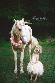 Kreations Photography / Toddler / Outdoor Photography / Unicorn Shoot