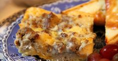 Deep South Dish: Egg, Biscuit and Sausage Gravy Breakfast Casserole