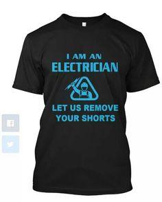 Electrician humor. ..  :)