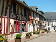 beautiful France Photography Para obtener información, acceda a nuestro sitio Region Normandie, On A Clear Day, Tourist Sites, France Photography, Saint Michel, Beaux Villages, Basque Country, Romanesque, White Houses