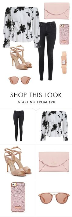 """""""Untitled #295"""" by jstahl21 ❤ liked on Polyvore featuring Frame, Paul Andrew and Kate Spade"""