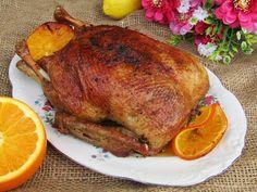 Tradycyjna kuchnia Kasi: Kaczka pieczona w pomarańczach Poultry, Turkey, Menu, Recipes, Food, Products, Recipies, Menu Board Design, Backyard Chickens