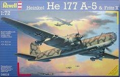 Revell 04616 Heinkel He 177 A-5 & Fritz X
