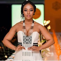 Nomzamo Mbatha named woman of the year African Traditional Wedding Dress, Traditional African Clothing, African Wedding Dress, African Print Dresses, Traditional Fashion, African Print Fashion, African Fashion Dresses, Traditional Outfits, African Dress