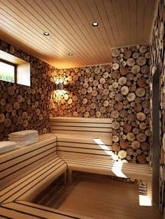 Diy Sauna, Sauna Steam Room, Sauna Room, Steam Bath, Saunas, Home Design, Diy Design, Design Ideas, Building A Sauna