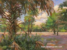 Paintings For Sale, Original Paintings, Florida Home, American Art, Art Boards, Tropical, Scene, Landscape, Artist