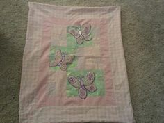 Butterfly Panel Quilt by CittysCrochet on Etsy, $45.00  My beautiful friend made this, she passed away one week ago today after a life long battle with CF...