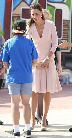 4/23/14 Kate at a children's youth centre in Adelaide, Australia.