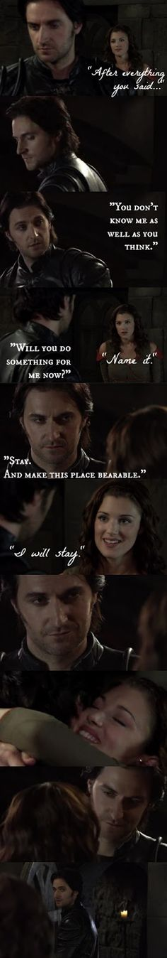 """Stay... and make this place bearable."" GAH HIS FACE <-- I LOVED THIS SCENE SO MUCH ASDLFKJASFSLK"