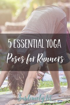 Five great yoga poses that target common trouble areas for runners. Runners, make sure you add them to your yoga practice! Yoga For Runners, Runners High, Running Workouts, Running Tips, Trail Running, Lose Weight Running, Running For Beginners, Yoga Moves, Yoga At Home