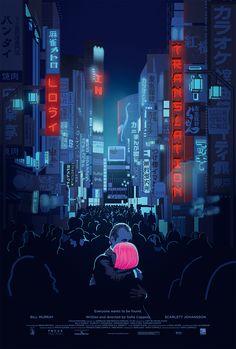 #LostInTranslation #fanart #film #movie #illustration #alternative #poster #graphicart