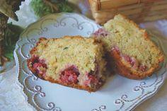 Raspberry zucchini bread