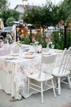 Colorado Wedding from Laura Murray Photography + Chairished Vintage Rentals Eclectic Chairs, Brunch Decor, Vintage China, Wedding Table, Denver, Florals, Style Me, Colorado, Weddings