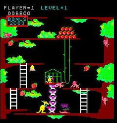 Kangaroo (arcade) - One of my favorite video games in the Vintage Video Games, Classic Video Games, Nintendo, School Videos, School Games, My Childhood Memories, Ol Days, Good Ol, Pinball