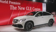 New mercedes gle coupe 2015  !