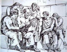 Los discípulos de Sócrates pertenecen a diferentes líneas de pensamiento: son conservadores, aristócratas, demócratas, historiadores, filósofos, etc., y también a todas las clases sociales: zapateros, curtidores, artistas, poetas, políticos, músicos, etc. Entre los que figuran podemos mencionar a Simón, Critias, Alcibíades. Esquines, Euclides de Megara, Aristipo, Antístenes, Diógenes, Eurípides, Jenofonte y Platón Finalmente los hijos de Critón: Critóbulo, Hermógenes, Epigenes y Ctesipo.