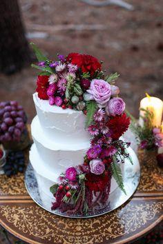 Jewel Toned Bohemian Wedding Ideas