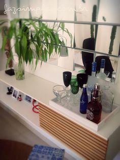 decoração de sala barzinho fácil de montar